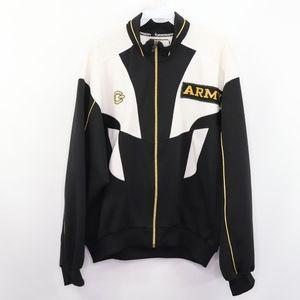 Goldwin Mens 42 Army Military Track Jacket Black